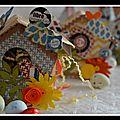 nichoirs de Pâques et poules