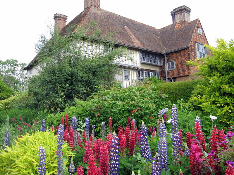 Angleterre les jardins de great dixter dans le sussex for Jardin de cottage anglais