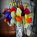 Mon modeste hommage à zabeth fleurs de mon jardin