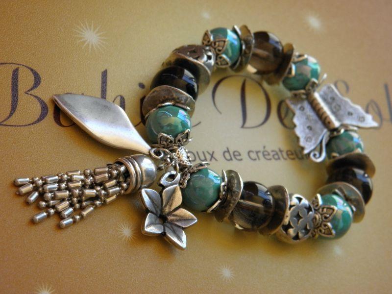 Bracelets perles et breloques