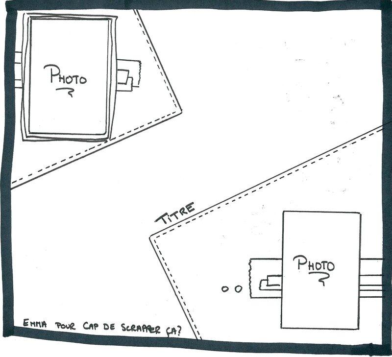 Sketch Emma pour Cap de Scrap