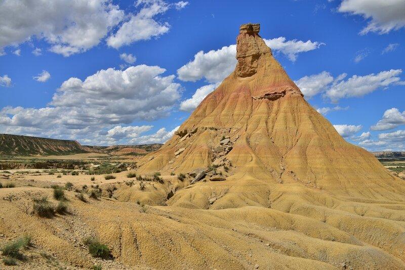 desert des Bardenas cheminée de fées