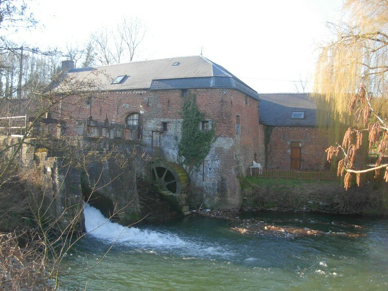 Le moulin de Rombies et Marchipont (59)