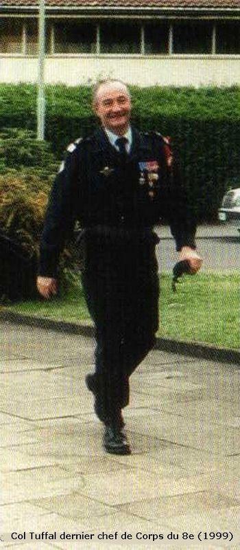 COL Tuffal (1999) et dissolution du bataillon