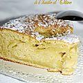 Gâteaux aux pommes à l'huile d'olive