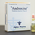 Androxine (trenbolone base, water-based)