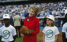 Nancy Reagan Just say no campaign