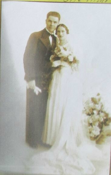 1933 mariage à Brest Queffelec-Ascoët