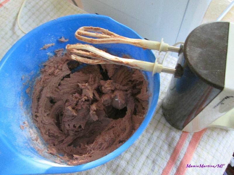 Carrés chocolatés à l'orange5