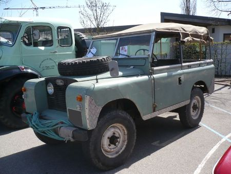 LAND ROVER Series II type 88 Châtenois (1)