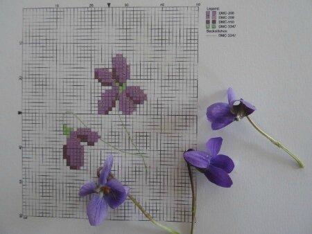 Grille violette