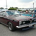 Plymouth barracuda 340s fastback coupé 1969
