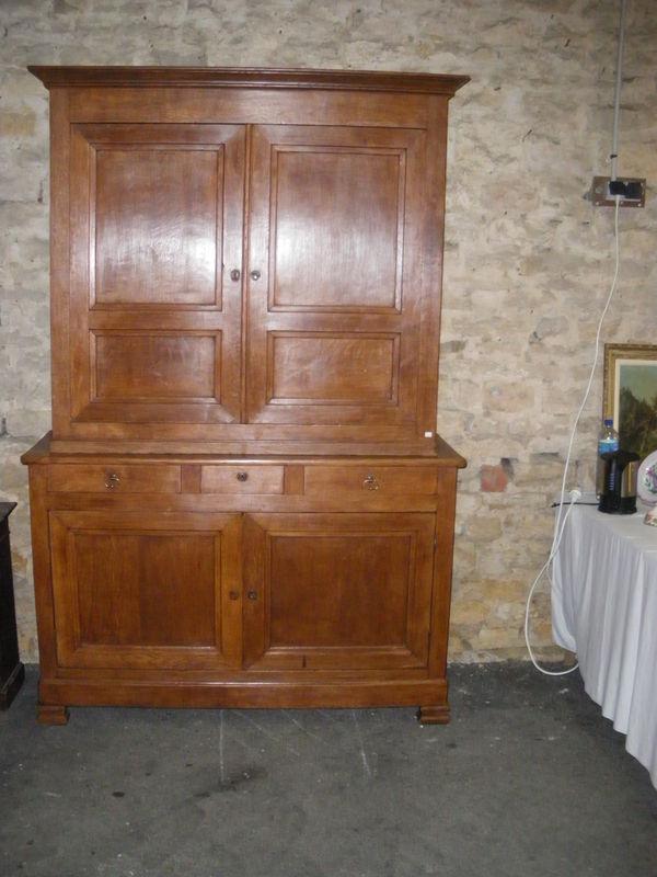 buffet ardennais 2 corps antiquites brocantes lazzarini. Black Bedroom Furniture Sets. Home Design Ideas