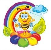 bee rainbow