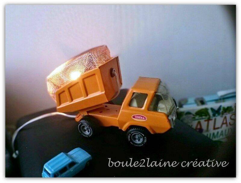 lampe camion tonka b2l
