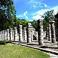 Temple aux mille colonnes - Chichén Itza