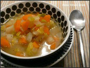 bouillon légumes comme un pot au feu