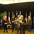 Remise des prix de la voie sacre