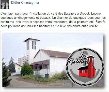 Quartier Drouot - Café les Bateliers