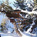 Entrée maison La Marmotte Hautes-Alpes SuperDevoluy