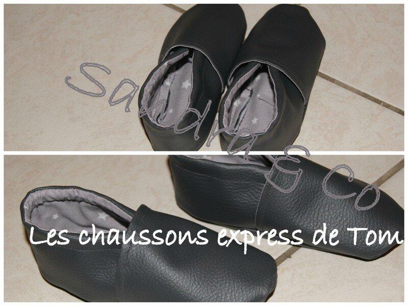 Les chaussons express de Tom