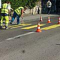 5ème parcours du chantier du tram, suite : avenue carnot, avenue fontaine-argent, rue tristan bernard