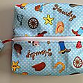 PUL fabric pencil case
