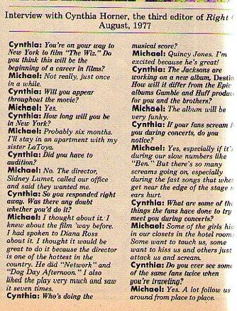 itw right on aout 1977