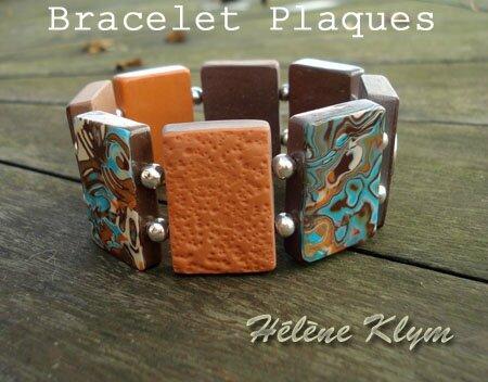 Bracelet plaques