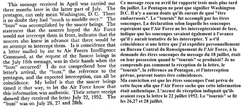 Message 19 avril 1952 - 2