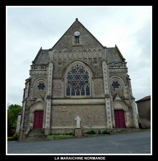 saint hilaire de mortagne église