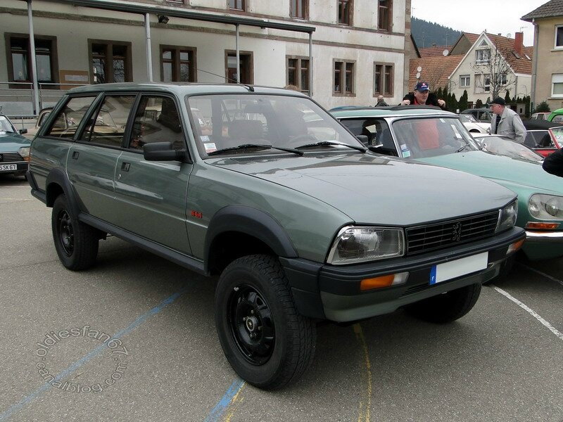 Peugeot 505 Grd Break Dangel 4x4 1985 224 1990