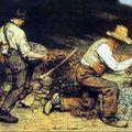 Les casseurs de pierres_Gustave Courbet 1849