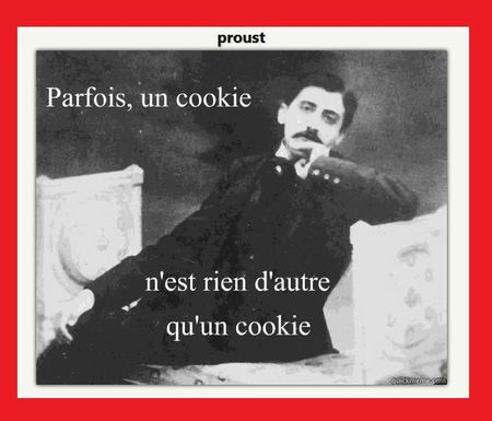 Proust's cookie