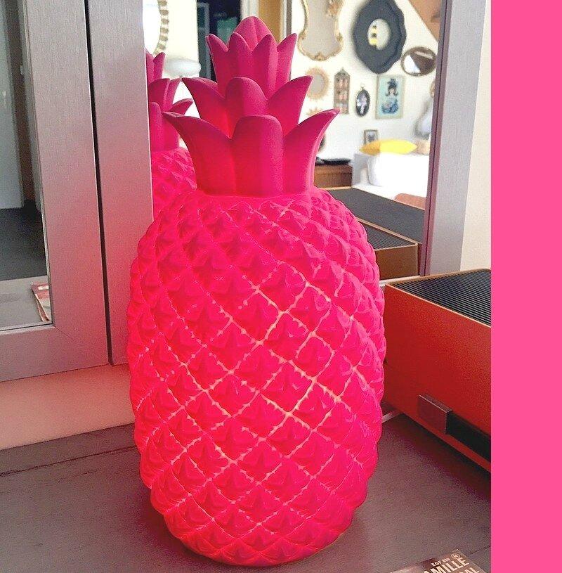 03 ananas lampe