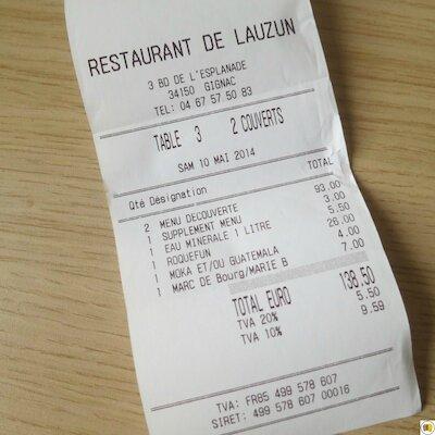 Restaurant de Lauzun