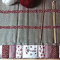Quand on tricote, il faut...