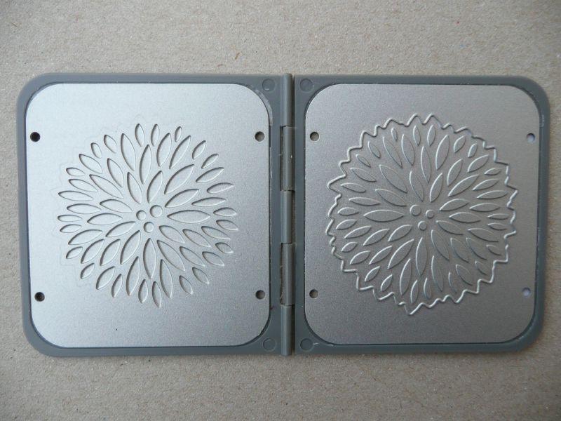 plaque de d coupe et d 39 embossage eclat floral photo de 3 accessoires pour la cuttlebug ain. Black Bedroom Furniture Sets. Home Design Ideas