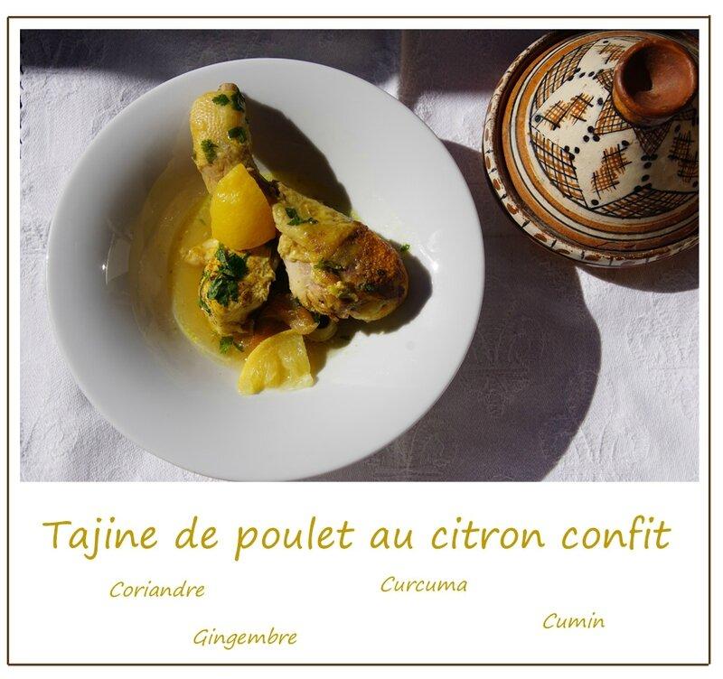tajine poulet citron confit 2