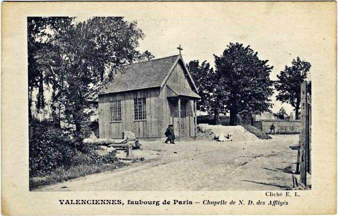 chapelle provisoire des affligés