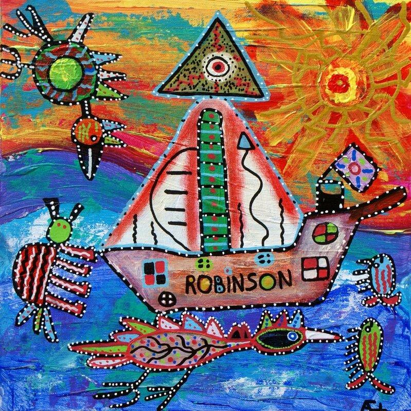 bateau robinson