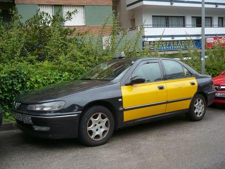 PEUGEOT 406 taxi de Barcelone Lloret de Mar (1)