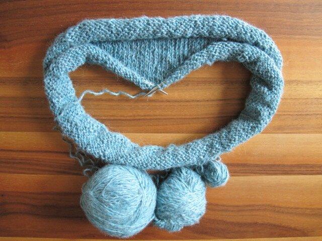 Recyclage, et expérience tricotesque...