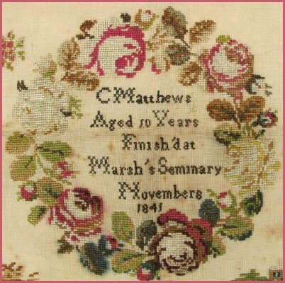 The Rose Wreath Sampler 2