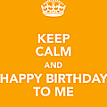 It's my day !