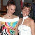 Avec deux miss suisses romandes: Alessandra Cuomo et Céline Nussbaumer
