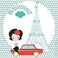 Parisienne à pois!