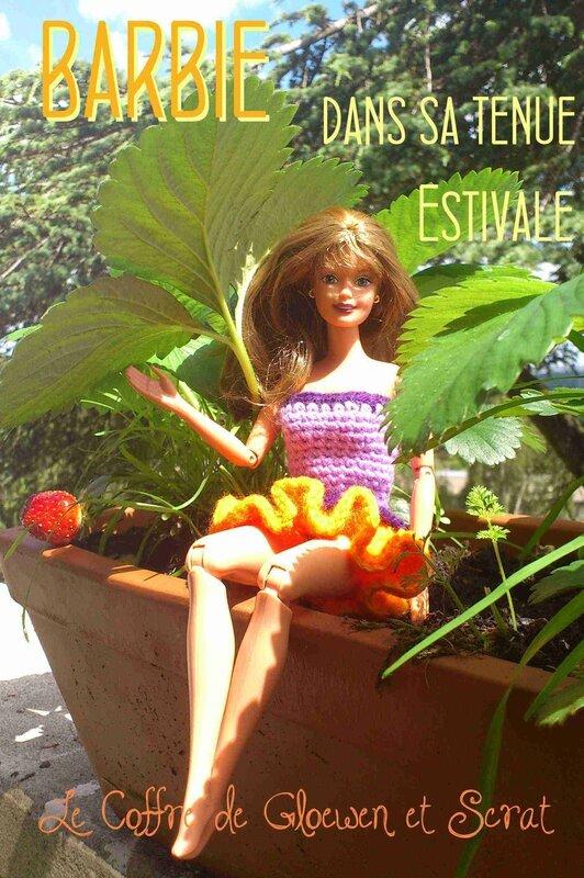 Tenue de barbie au crochet - c'est l'été (2)