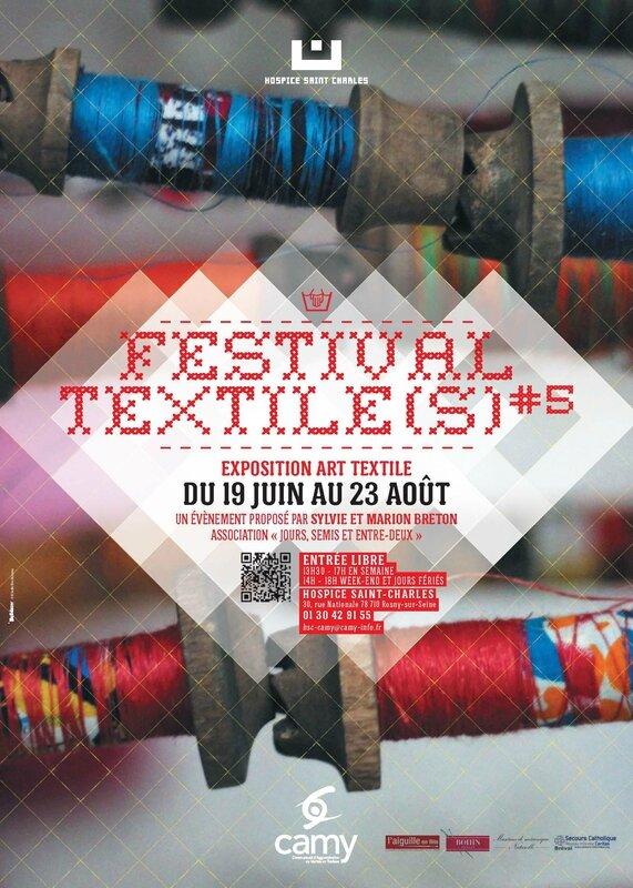 invitation Festival Textile