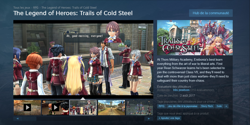 Cold Steel Steam